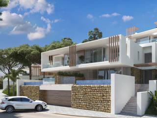 CONCURSO DAZIA EN ELVIRIA G&J ARQUITECTURA Casas multifamiliares