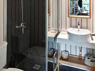Interiorismo: Baños de estilo moderno por Kgarquitectura