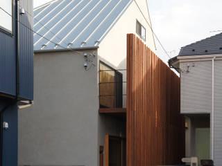 Chalets & maisons en bois de style  par 一級建築士事務所A-SA工房