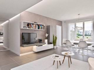 Gentile Architetto Modern Living Room