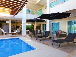 Residência Alphaville Fortaleza por RI Arquitetura Moderno