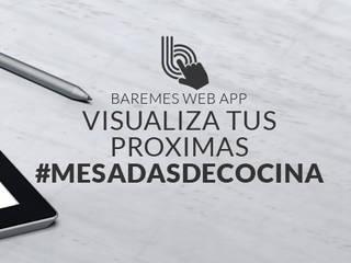 Mesadas Grises Modernas y Funcionales – Mesadas de Cuarzo Gris Europeo Technistone Gobi Grey de Technistone Argentina Moderno