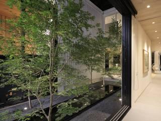 KSG HOME STUDIO: Jardines de estilo  por Hernandez Silva Arquitectos