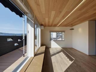 八幡市M邸 戸建てリノベ 和風デザインの リビング の 空間工房 用舎行蔵 一級建築士事務所 和風