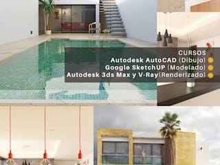 Casas modernas por Vértice Arquitectos Moderno