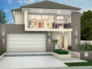 La Casa de tus sueños: Casas de estilo moderno por TRES MODULAR ARQUITECTURA SA DE CV
