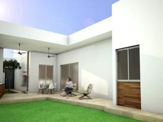 Terrazas de estilo  de Osuna Arquitecto, Moderno