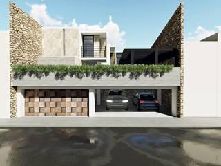 Residencia M0072M0 Casas modernas de MORAN ARQUITECTOS Moderno