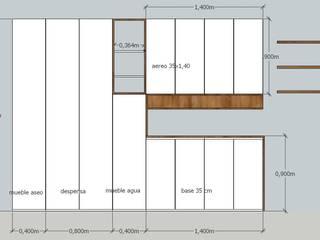 modern  by MMAD studio - arquitectura interiorismo & mobiliario -, Modern