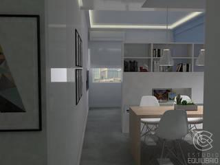 Minimalist dining room by Estudio Equilibrio Minimalist