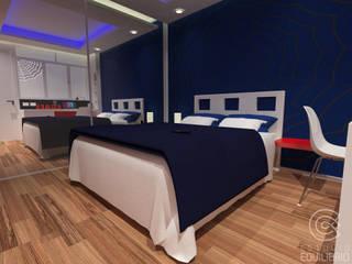 Детская комната в стиле модерн от Estudio Equilibrio Модерн