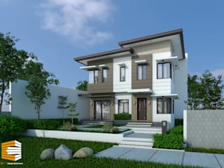 2-Storey House: modern  by CB.Arch Design Solutions, Modern