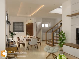 2-Storey House Asian style dining room by CB.Arch Design Solutions Asian