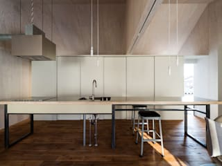 Takeru Shoji Architects.Co.,Ltd Eclectic style kitchen