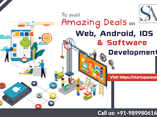 Android app design and web development company in india by Startuparena Asian