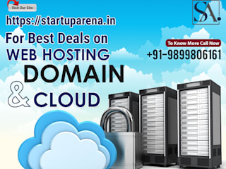 Domain Registration Web Hosting Services Cloud Hosting in India by Startuparena Asian