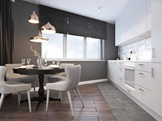 Kitchen by Ambience. Interior Design