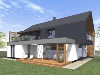 Dom w Dąbrówce od Fiord-Architekci Nowoczesny