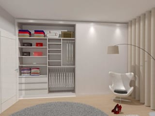 Modern style bedroom by MJF Interiores Ldª Modern