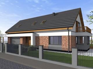 Dom w Drwęsie od Fiord-Architekci Nowoczesny