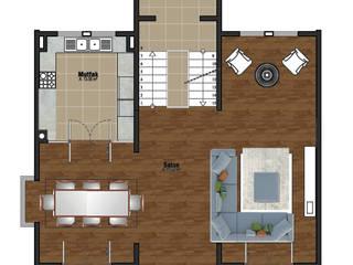 50GR Mimarlık – kat planı_:  tarz Duvarlar