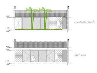 Casa en Melincué:  de estilo  por MINUÉ Arquitectura