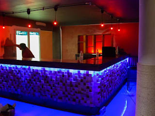 Barras para Bar:  de estilo  por Raíz Estudio de Diseño