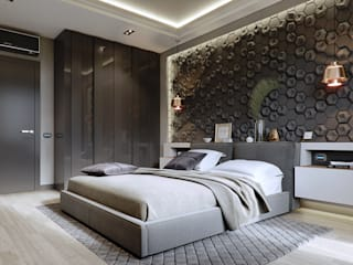 Modern style bedroom by EJ Studio Modern