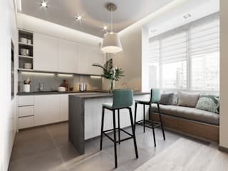 Minimalist kitchen by EJ Studio Minimalist