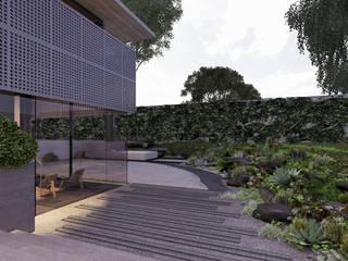 Paola Calzada Arquitectos Rock Garden Stone Grey