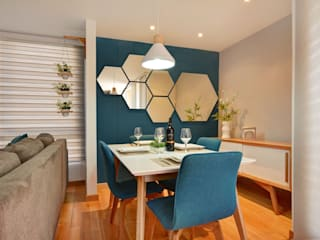 Comedores de estilo moderno de Natalia Mesa design studio Moderno