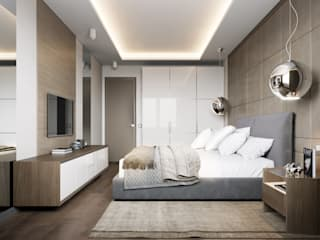 Minimalist bedroom by EJ Studio Minimalist