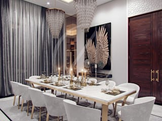 Dining room by Comelite Architecture, Structure and Interior Design