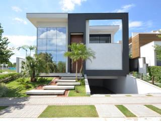 Andréa Generoso - Arquitetura e Construção บ้านและที่อยู่อาศัย แกรนิต Grey