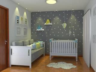 غرفة الاطفال تنفيذ Pinus Arquitetura
