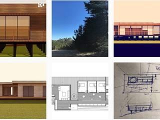 Arquitectura - Bocetos - Esquemas - Proyectos - Construccion de Loberia Arquitectura