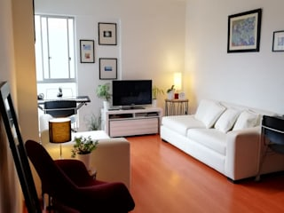"Home Staging - Departamento :  de estilo {:asian=>""asiático"", :classic=>""clásico"", :colonial=>""colonial"", :country=>""país"", :eclectic=>""ecléctico"", :industrial=>""industrial"", :mediterranean=>""Mediterráneo"", :minimalist=>""minimalista"", :modern=>""moderno"", :rustic=>""rústico"", :scandinavian=>""escandinavo"", :tropical=>""tropical""} por Mauriola Arquitectos,"