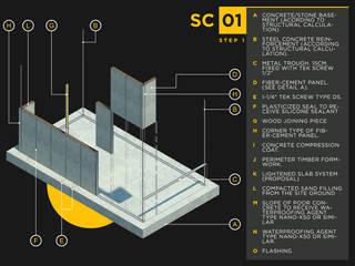 Casas de estilo minimalista de Visionary Architecture SA de CV Minimalista