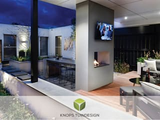 modern  by Knops Tuindesign, Modern