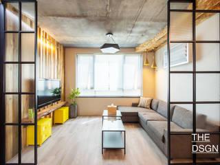 Living room by 더디자인 the dsgn, Scandinavian