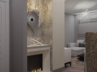 Modern Living Room by Александра Геродотова Modern