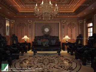 NỘI THẤT CỔ ĐIỂN DÀNH CHO LÂU ĐÀI :   by công ty cổ phần Thiết kế Kiến trúc Việt Xanh