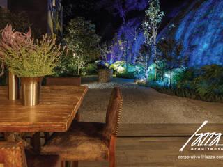 Jardin interior homify Jardines japoneses Pizarra Gris