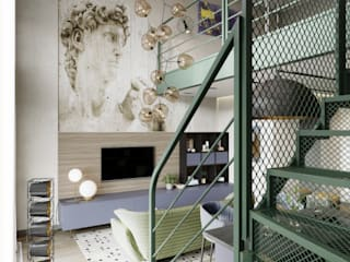Stairs by EJ Studio, Eclectic