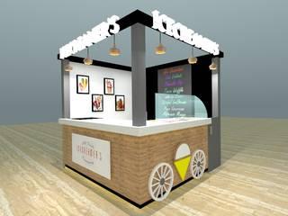 Icecream Kiosk...:   by Archspace Interio