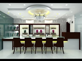 Jewellery Showroom...:   by Archspace Interio