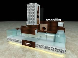 Ambalika ...Jewels Display..:   by Archspace Interio