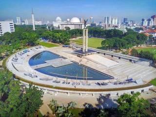 PT. Kampung Flora Cipta Tropical style stadiums Green