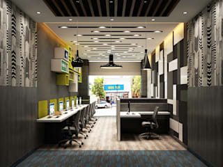 Office Interior:   by MAG Consultancy