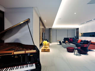 黃耀德建築師事務所 Adermark Design Studio Living room